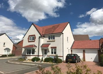 Thumbnail 4 bed detached house for sale in Lambourne Close, Evesham, Worcestershire
