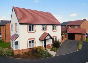 Thumbnail 4 bed detached house for sale in Copper Beech Road, Shavington, Crewe