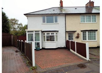 Thumbnail 3 bed terraced house for sale in Picton Grove, Birmingham