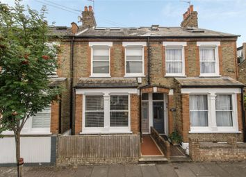 Thumbnail 4 bed terraced house for sale in Coombe Villas, Longfield Street, Southfields, London