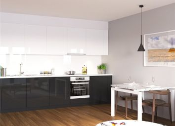Thumbnail 2 bed flat for sale in Discovery Tower, Canning Town