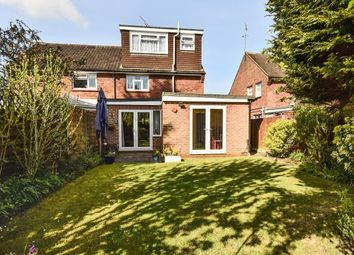 Thumbnail 5 bedroom semi-detached house for sale in Wishmoor Road, Camberley