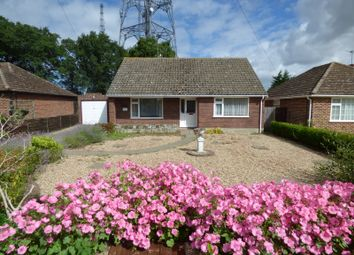 Thumbnail 3 bedroom detached bungalow for sale in Poringland Road, Stoke Holy Cross