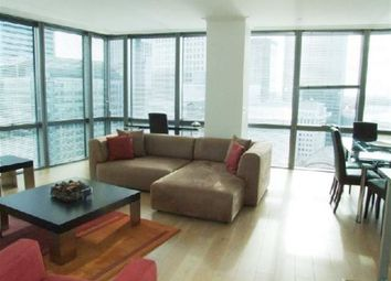Thumbnail 1 bedroom flat to rent in No.1 West India Quay, Hertsmere Road, Canary Wharf