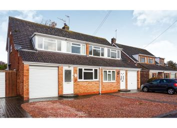 Thumbnail 3 bed semi-detached house for sale in Monks Way, Pershore