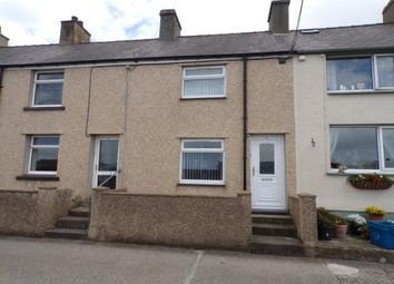 Thumbnail 2 bed terraced house for sale in Bron Eryri Terrace, Rhosgadfan, Caernarfon