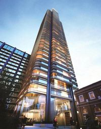 Thumbnail 2 bed flat for sale in Principal Tower, Shoreditch, London