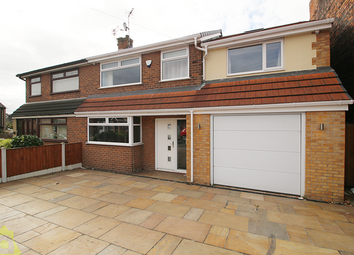 Thumbnail 3 bed semi-detached house for sale in Leigh Road, Hindley Green