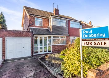 Thumbnail 3 bedroom semi-detached house for sale in Conway Crescent, Willenhall