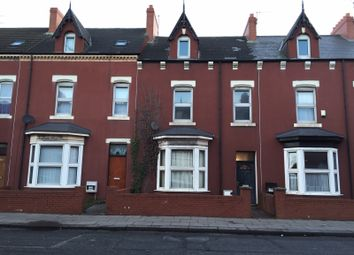 Thumbnail 4 bed terraced house to rent in York Road, Hartlepool