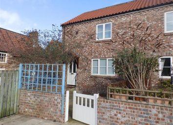 Thumbnail 2 bed semi-detached house to rent in Sadler's Court, Back Lane, Boroughbridge