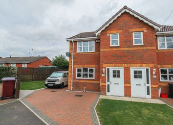 Thumbnail 3 bed semi-detached house for sale in Calver Avenue, North Wingfield, Chesterfield