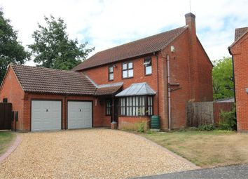 Thumbnail 4 bed detached house for sale in Chesham Drive, Baston, Peterborough, Lincolnshire
