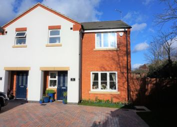 Thumbnail 3 bed semi-detached house for sale in Kathleen Close, Glenfield