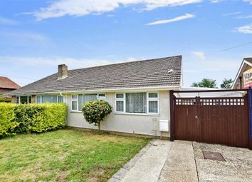 Thumbnail 2 bed semi-detached bungalow for sale in Capel Street, Capel-Le-Ferne, Folkestone, Kent