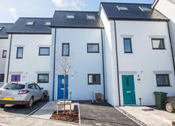 Thumbnail 3 bed town house for sale in Woolwell Crescent, Plymouth