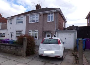 Thumbnail 3 bed semi-detached house for sale in Linkside Road, Woolton, Liverpool, Merseyside