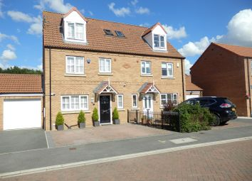 Thumbnail 4 bed semi-detached house for sale in Heather Drive, Sherburn In Elmet, Leeds