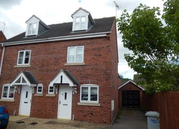 Thumbnail 3 bed semi-detached house to rent in Stirling Drive, Coddington, Newark