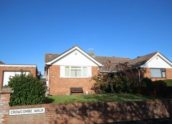 Thumbnail 3 bed semi-detached bungalow for sale in Crowcombe Walk, Bridgwater
