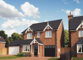 Thumbnail 4 bed detached house for sale in Kings Vale. Off Shrewsbury Road, Baschurch, Shrewsbury