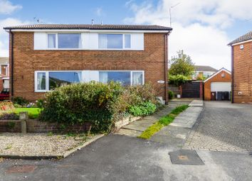 Thumbnail 3 bedroom semi-detached house for sale in Temple Rise, Leeds