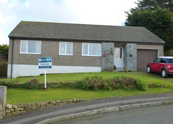 Thumbnail 3 bed detached bungalow for sale in Boskernick Close, Newlyn, Penzance