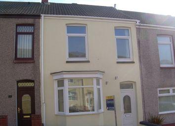 Thumbnail 3 bed terraced house to rent in Baglan Street, Port Tennant, Swansea.