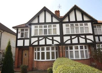 Thumbnail 4 bed flat to rent in Greenford Road, Greenford