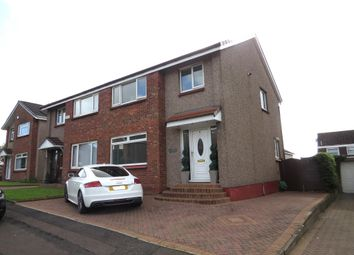 Thumbnail 3 bed semi-detached house for sale in Murrin Avenue, Bishopbriggs, Glasgow