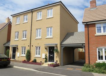Thumbnail 4 bed town house for sale in Copia Crescent, Leighton Buzzard