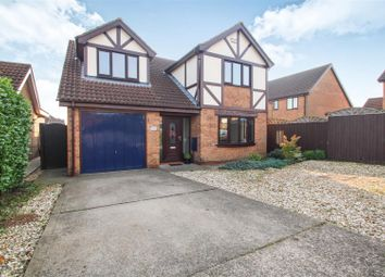 Thumbnail 4 bed detached house for sale in Shaw Drive, Scartho, Grimsby
