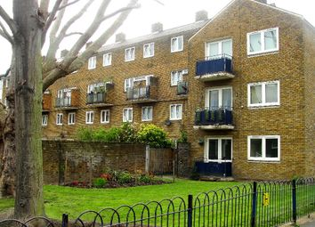 Thumbnail 4 bed flat to rent in Burbage Close, London
