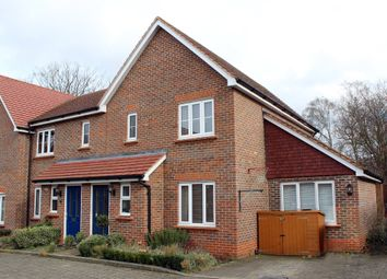 Thumbnail 3 bedroom end terrace house for sale in Ostler Court, Royston, Herts