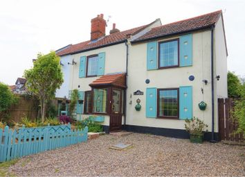Thumbnail 3 bed semi-detached house for sale in The Street, Hickling, Norwich