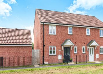 Thumbnail 3 bed semi-detached house for sale in Millstone Close, Weston-Super-Mare