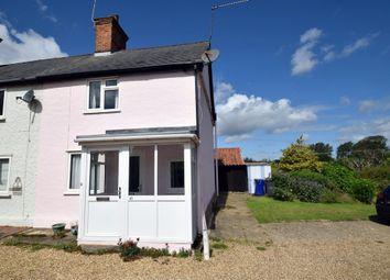 Thumbnail 2 bed end terrace house for sale in Aldridge Lane, Fornham All Saints, Bury St. Edmunds