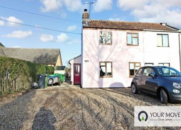 Thumbnail 2 bed semi-detached house for sale in Darrow Green Road, Denton, Harleston