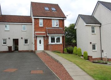 Thumbnail 3 bed town house to rent in Millgate Crescent, Caldercruix, North Lanarkshire