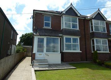 Thumbnail 4 bed semi-detached house to rent in Tavistock Road, Launceston, Cornwall