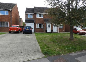 Thumbnail 3 bed semi-detached house for sale in Rowton Heath Way, Freshbrook, Swindon