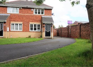 Thumbnail 2 bed semi-detached house for sale in Gemini Drive, Liverpool