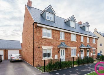 Thumbnail 3 bed end terrace house for sale in Vale Road, Bishops Cleeve, Cheltenham