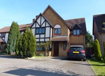 Thumbnail 4 bedroom detached house to rent in West End, Yaxley, Peterborough, Cambridgeshire.