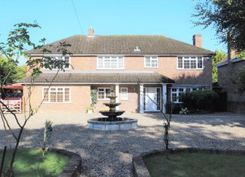 Thumbnail 4 bed detached house for sale in Reading Road, Padworth Common