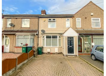 3 bed terraced house for sale in Yelverton Road, Coventry CV6