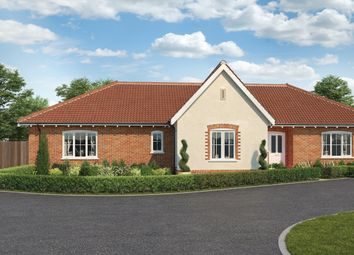 Thumbnail 4 bed detached bungalow for sale in The Dunton, St Peter's Place, Church Road, Stutton