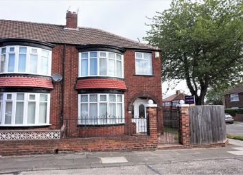 Thumbnail 3 bedroom end terrace house for sale in Lichfield Road, Linthorpe, Middlesbrough