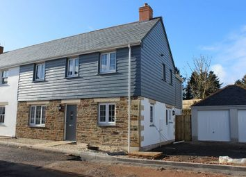 Thumbnail 4 bed semi-detached house for sale in Hewas Water, St. Austell
