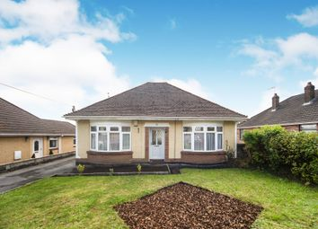 Thumbnail 3 bedroom detached bungalow for sale in Church Road, Tonteg, Pontypridd